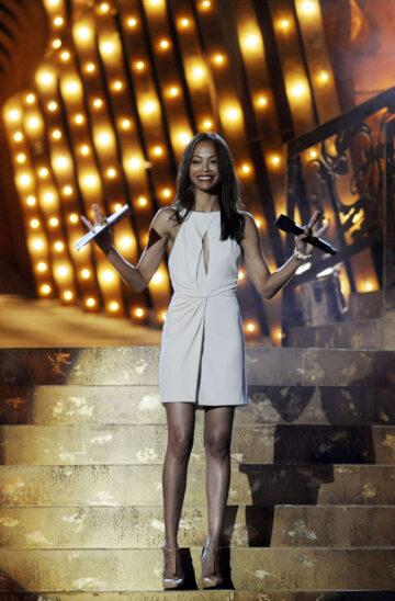 Zoe Saldana Spike Tv Scream Awards